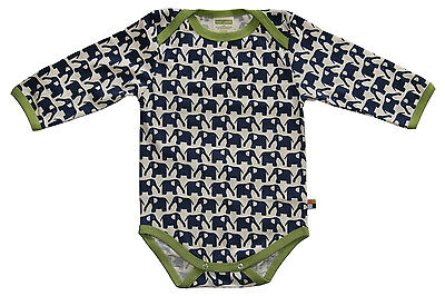 loud and proud Body suit long sleeved 202 navy/blue 100% Organic cotton GOTS+