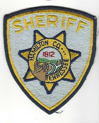 Hamilton County TN Tennessee Sheriff LEO patch - Nice!