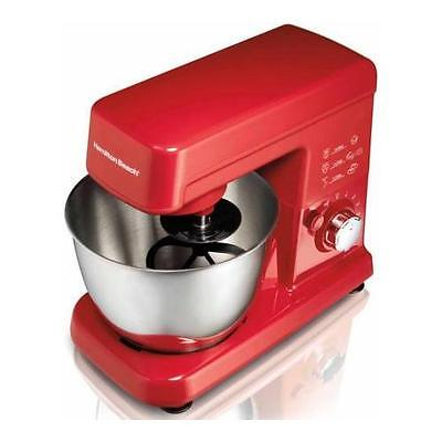 Hamilton Beach 3.5-Quart Orbital Stand Mixer | actualColor: Red