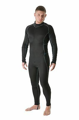 EDZ All Climate Motorbike Base Layer Undersuit One Piece Suit - Men's LARGE