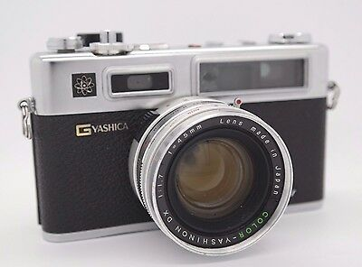 VINTAGE 1970 Yashica Electro 35 GSN 45mm 1:1.7 - Spiderman - Peter Parker Camera