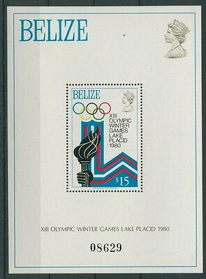 Belize 1979 Olympiade Lake Placid Block 13 postfrisch (C22506)