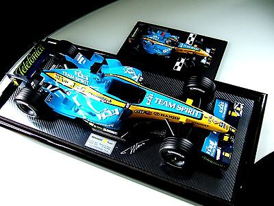 Aspect 1/8 Scale Fernando Alonso Signed Officially Commisioned Renault R26 2006