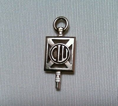 1959 The American College of Life Underwriters Key Pin, CLU, Vintage, Fob