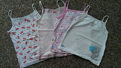Gorgeous Strappy Vests from NEXT, Cherries, Spots & Me to You Bear  age 5-6
