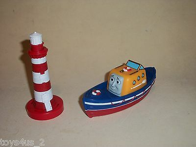 Thomas & Friends Trackmaster - Captain the Rescue Boat & Lighthouse