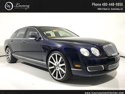 2008 Bentley Continental Flying Spur Flying Spur Sedan 4-Door trutt Grill, Low Miles, Upgraded Stereo, 22 Dub Wheels, Speed,Massage,W12 06 07