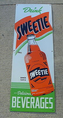 Drink Sweetie Beverages Soda Tin Sign