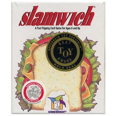SLAMWICH Family Card Game Stratege Game For Family Fun or Trave