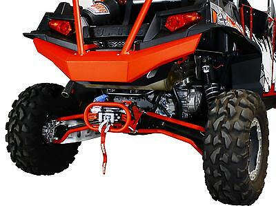 DragonFire Racing RZR 900 XP XP4 Rocksolid Rear Bumper RED NEW 02-1913