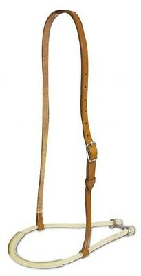 Showman Rubber Covered Rope Tie Down with Argentina Leather Strap! HORSE TACK!