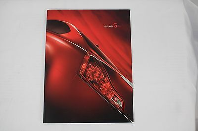 2009 09  Infiniti G Coupe Original sales brochure