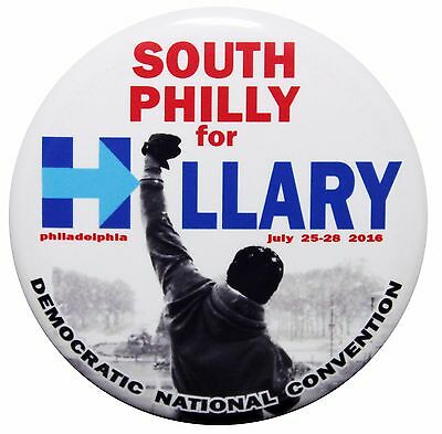 2016 Hillary Clinton - Democratic National Convention Pin Back Button