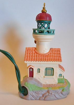 "1998 Hallmark Keepsake Ornament ""Lighthouse Greetings"" #2 in Series with Box"