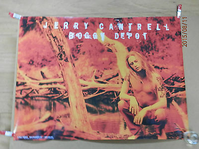 "Jerry Cantrell (Alice in Chains) ""boggy depot"" ...1998 original promo poster"