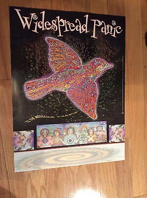 "Widespread Panic ""til the medicine takes"". 1999 Capricorn records promo poster"