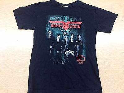 Vintage Rammstein Shirt Adult Small S Heavy Metal Industrial Concert