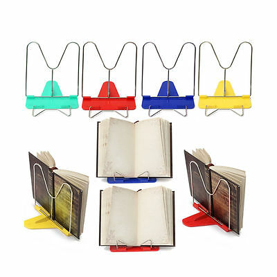 Portable Foldable Adjustable Frame Reading Holder Book Stand Bookrest New