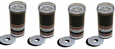 4 X Awesome Water Filters 8 Stage Kdf Prestige H2O Healthy Water 4U Purifier!!