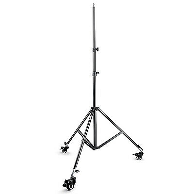 Neewer 2PCS Photography Studio Heavy Duty Light Stand with Caster Wheels