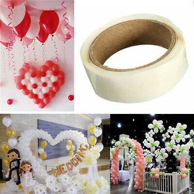300 Glue Dots Sticky Adhesive For Wedding Balloon Decoration Removable 5mm Dia