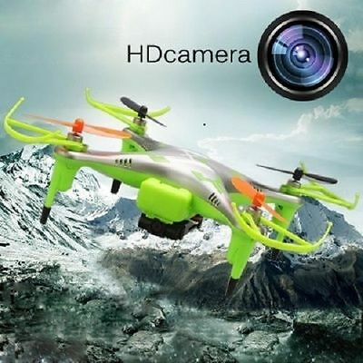 Drone Raider 2.4GHz RC 6 Axis Quadcopter with Video Camera & LCD Display Awesome