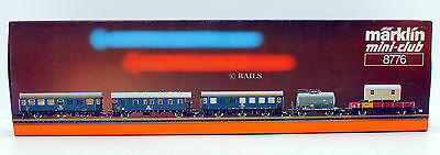 Marklin Z Gauge 8776 Construction Work Coaches And Wagons Set (10Y)