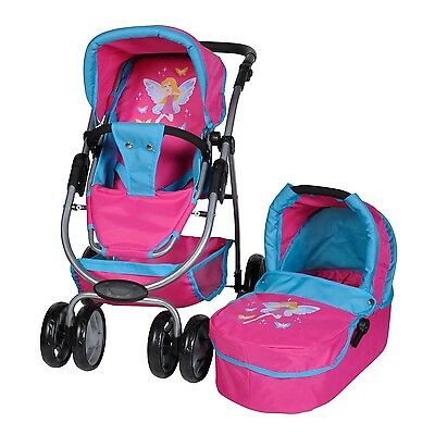 Knorrtoys 90759Doll Pushchair Toy Coco with Doll Baby Carrier