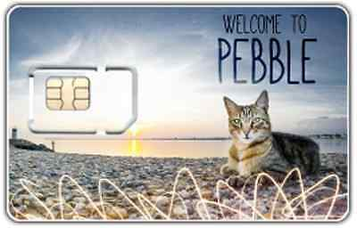 Pebble Network - The UK's Best Mobile Network Coverage - Signal Booster SIM Card