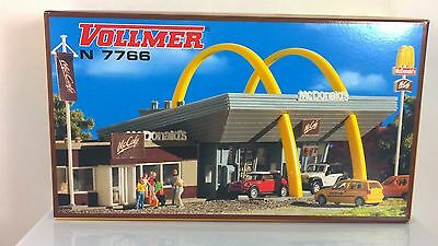 Vollmer 7766 McDonald's with McCafe Building Kit  N Scale