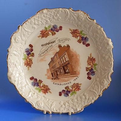 Co op Cooperative Wholesale Society CWS Advertising Plate Kilnhurst