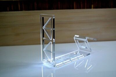 Shoe acrylic stand industrial style