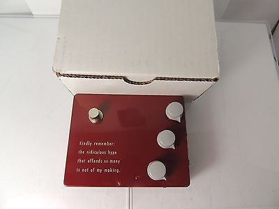 KLON KTR OVERDRIVE EFFECTS PEDAL AUTHENTIC w/ORIGINAL BOX FREE USA SHIPPING