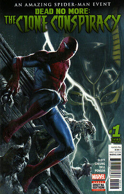 CLONE CONSPIRACY #1 - 3rd Print - Spider-Man Dead No More - New Bagged