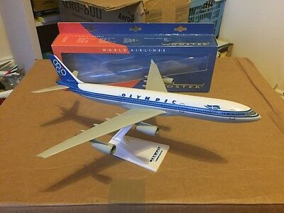 Olympic Airways Airbus A340-300 Aircraft Model 1:200 Scale Wooster VERY RARE