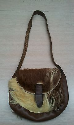 vintage cowboy country western rodeo leather purse