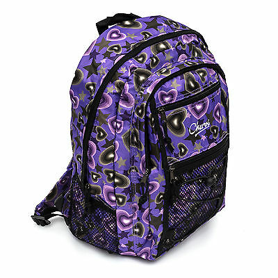 Chervi Purple Hand Luggage Cabin Rucksack Backpack Bag Women Girl School Airline