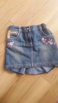 Next voulant blue jeans skirt (5 years old girl)