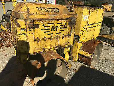 Wacker RT Vibratory Trench Roller Compactor Remote