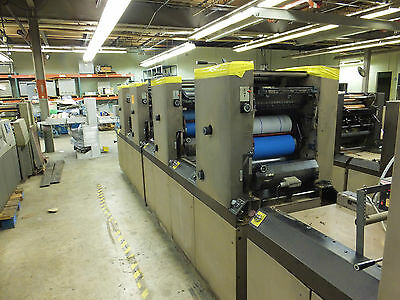 DIDDE Apollo MCP 4 Color Press with Numbering, Perf. and Crestline Damping