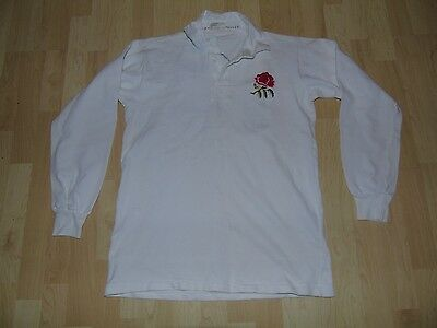 England Rugby 1980's Match Worn Shirt /jersey/maillot- Look!!