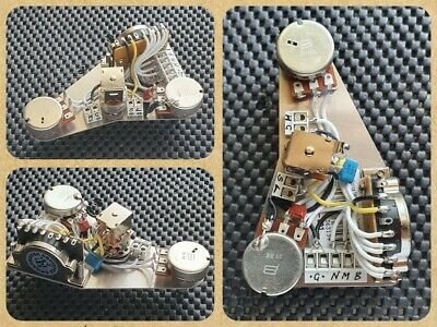 Fender Stratocaster Strat HSS wiring upgrade kit - Auto split TBX & Blend Pot