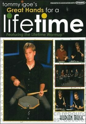 Tommy Igoe Great Hands For A Lifetime Learn How To Play Drums Dvd