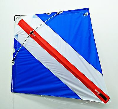 PETER POWELL Dual Line Stunt Kite flying toy retro Kids Outdoor Sport