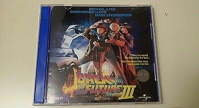 Back to the Future Part III Video CD- 2 Discs 1990 Singapore Release