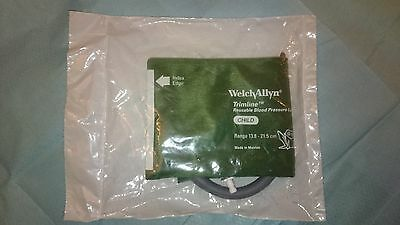 Blood Pressure Cuff child size with tube Welch Allyn Cuffs 13.8 to 21.5cm