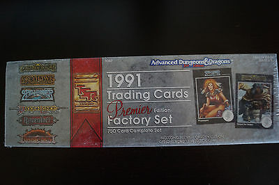 Advanced Dungeons & Dragons 1991 Trading Cards Premier Edition Factory Set