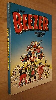 The Beezer Book 1990 Comic Annual unclipped