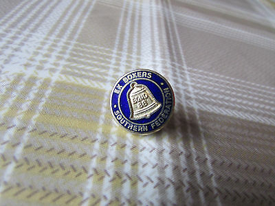 SOUTHERN Federation Ex Boxers Association Boxing Pin Badge