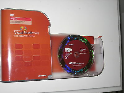 Microsoft Visual Studio 2008 Professional (inc SQL Server) Upgrade